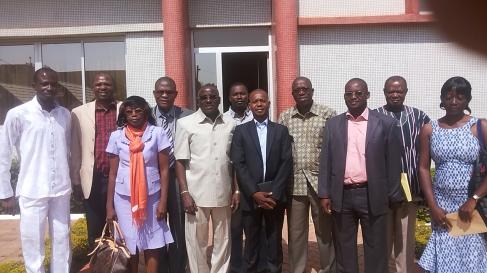le Maire de Ouagadougou rencontre le bureau de l'association des agences de communication