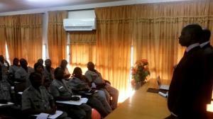 Coach Azize Bamogo, formation des chefs de brigade