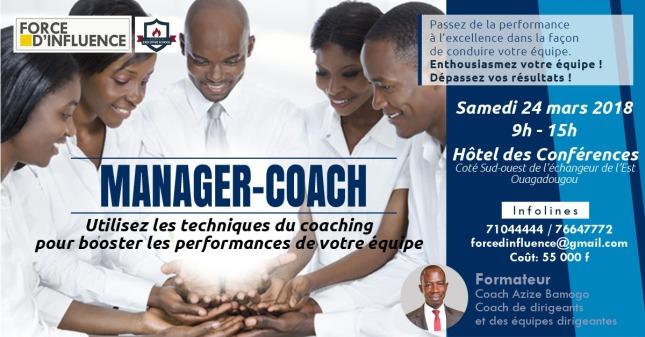 offre de formation MANAGER COACH